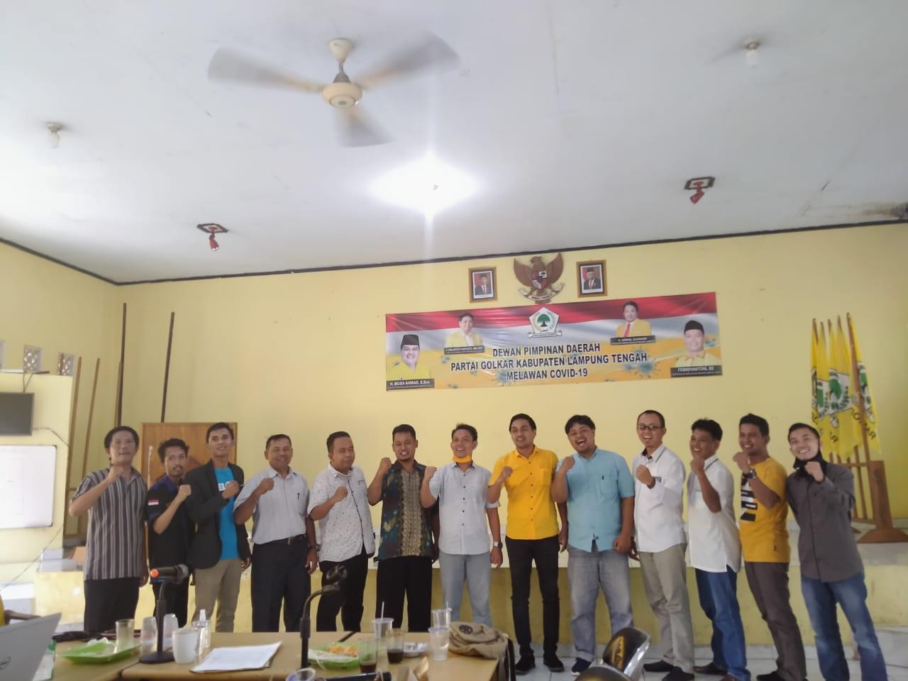 Partai Gelora Lampung Tengah Beri Dukungan Pasangan Musa-Ardito