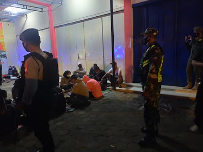Upaya Pencegahan Covid-19, Kodim Pemalang Bersama Polres dan Salpol PP Gelar Operasi Yustisi