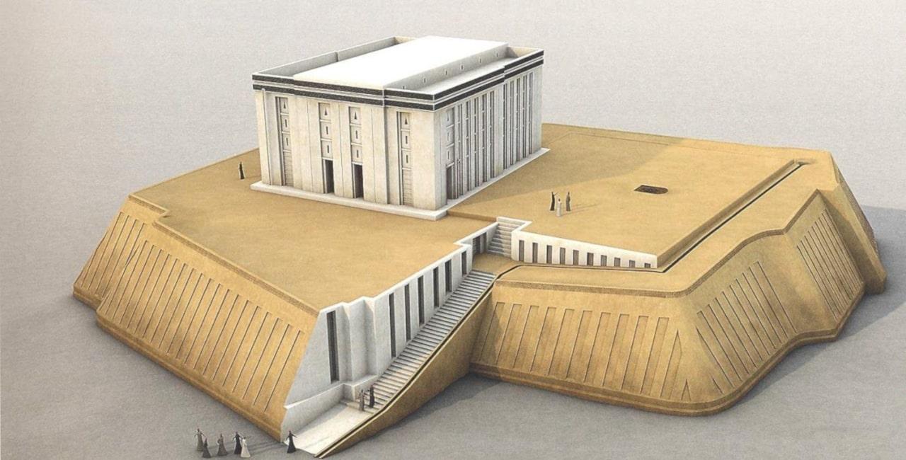templo blanco de uruk antigua mesopotamia