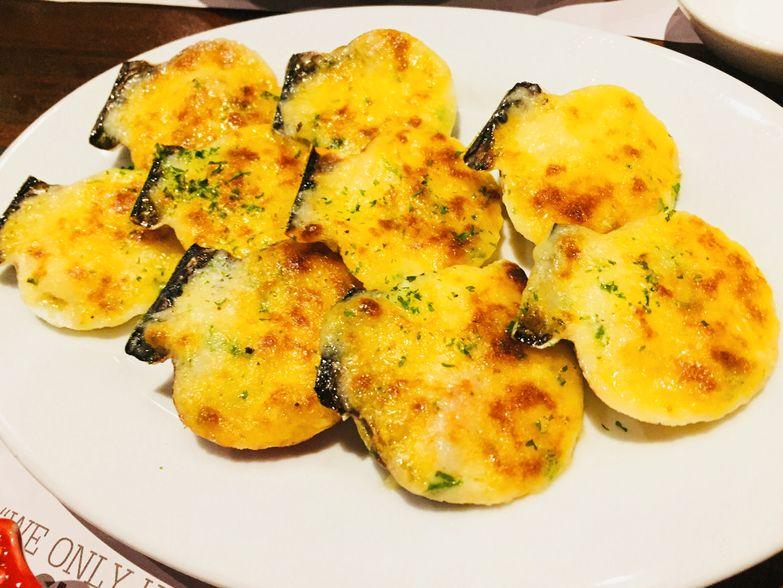 Baked scallops at Zubuchon