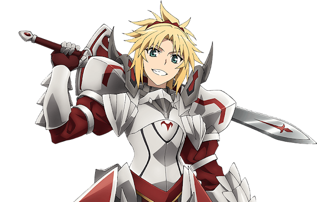 Mordred, Armor, No Helmet, How Fate/Stay Night's Saber is a Dad