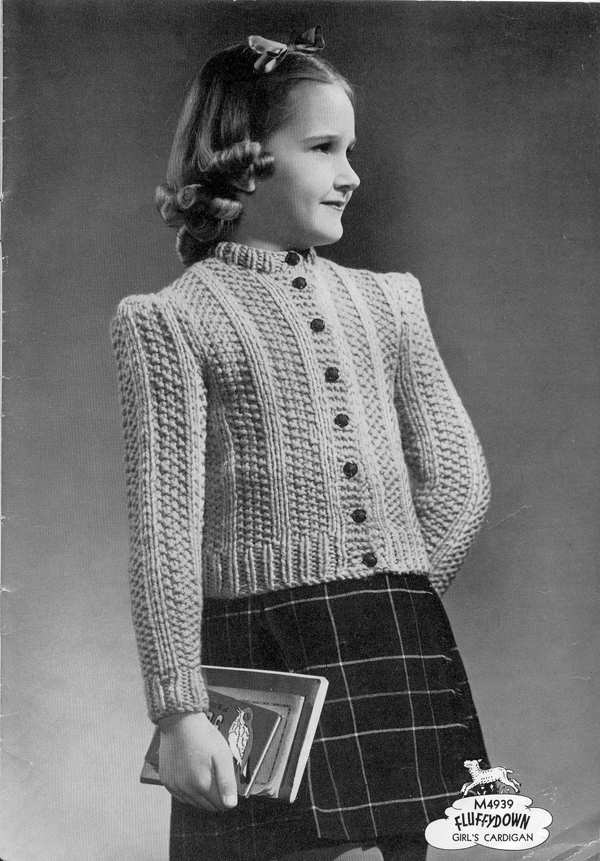 The Vintage Pattern Files: 1940's Knitting - Corticelli ...