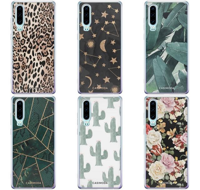 Shop tip modieuze telefoonhoesjes van Casimoda smartphone hoesje huawei prints panter sterren bladeren bloemen cactus