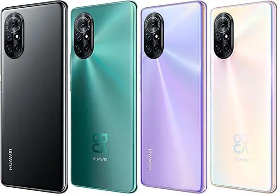 Huawei Nova 8 5G Specifications