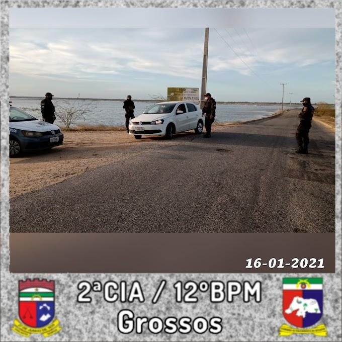 Operação Verão 2021: PM intensifica patrulhamentos e abordagens nas cidades da Costa Branca do Estado