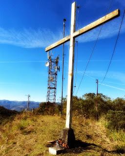 Cruz no Alto do Morro da Cruz, em Bom Retiro