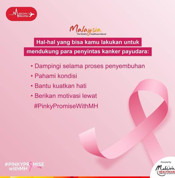 4 cara memberikan dukungan bagi penyitas kanker payudara