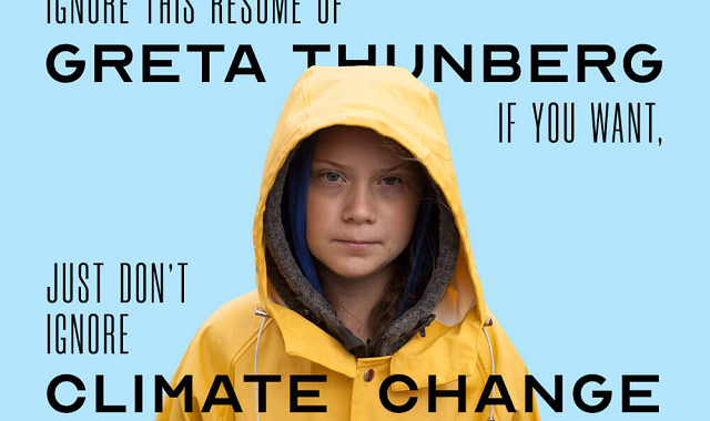 Greta Thunberg's protests against Climate Change