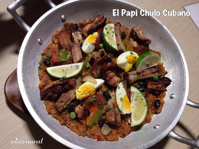 El Papi Chulo Cubano- Paella Havana