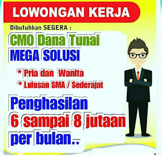 Info Karir Lampung PT. MEGA CENTRAL FINANCE Mei 2019