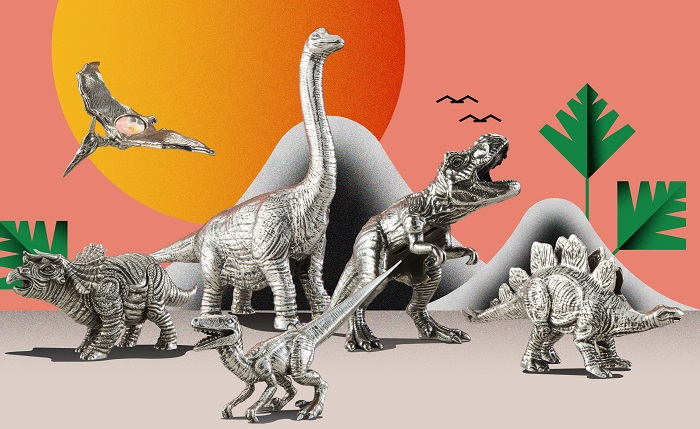 Dinosaurs Stationery From Royal Selangor For Work & Play
