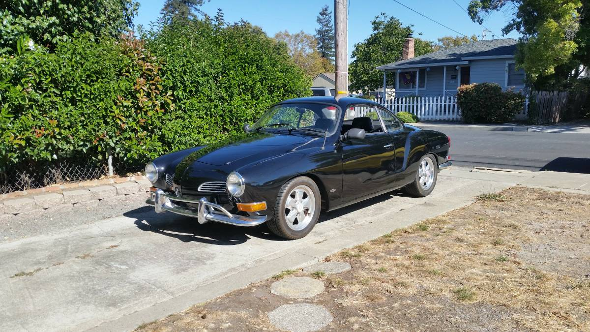 Daily Turismo: Cool Beetle Dude: 1970 Volkswagen Karmann Ghia