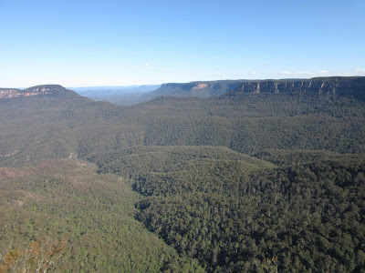 Valle Jamison desde Three Sisters. Blue Mountains. Sydney