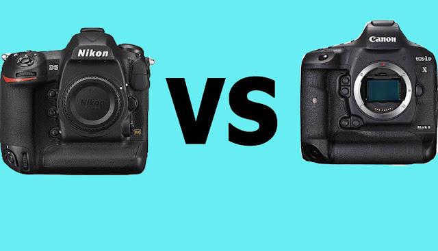 مقارنة بين الكاميرات الاحترافية