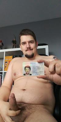 Marcel Sprenger showing id