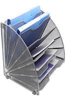EasyPAG Fan-Shaped Desk File Organizer