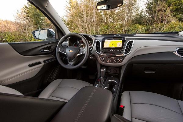 Interior Chevrolet Equinox Argentina