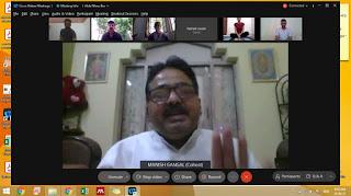 Vice Chancellor. Prof. Ambarish Sharan Vidyarthi Bikaner News