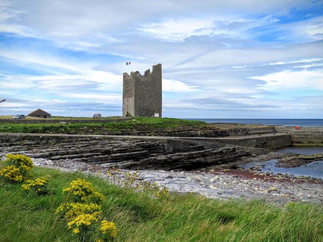 Easkey Castle, County Sligo Ireland
