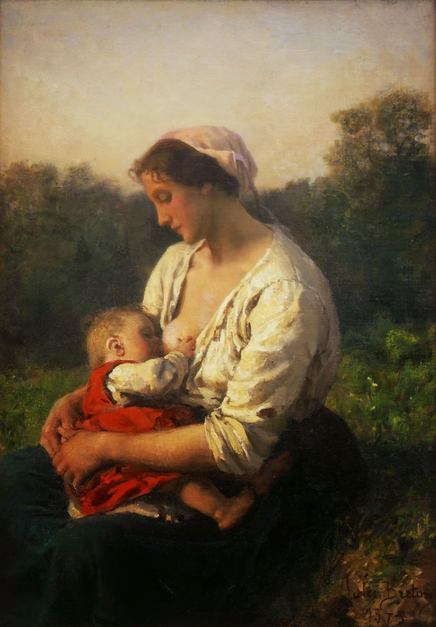 Wonderful Figurative Art Works by French Realist Painter - Jules Breton