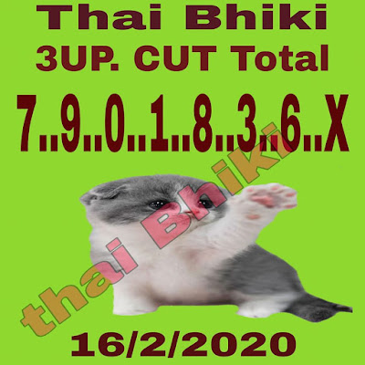 Thai Lotto 3up Direct Win Tip Facebook Timeline Blogspot 01 March 2020