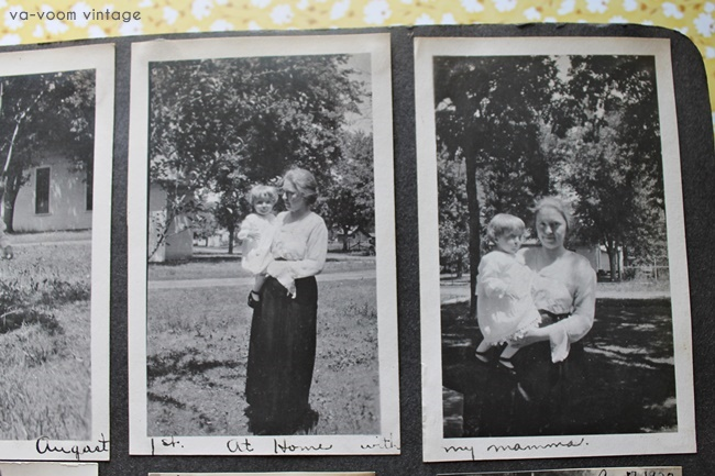 1920s family photos via va voom vintage