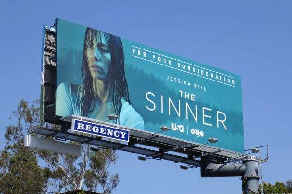 The Sinner Emmy FYC billboard