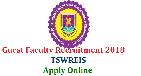 TSWRDC Guest Faculty Recruitment 2018 Online Application form @tswreis.in  Applications are invited from the eligible women candidates in Telangana. Guest Faculty Recruitment Notification in Telangana State Social Welfare Residential Degree Colleges from women candidates Apply Online Here for Guest Lecturer Posts in Social Welfare Degree Colleges tswrdc-tswreis-guest-faculty-recruitment-online-application-form