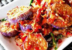Resep praktis (mudah) terong goreng pedas spesial (istimewa) enak, sedap, gurih, nikmat lezat