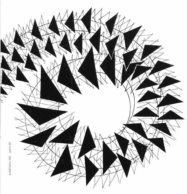 a graphic spiral 1960