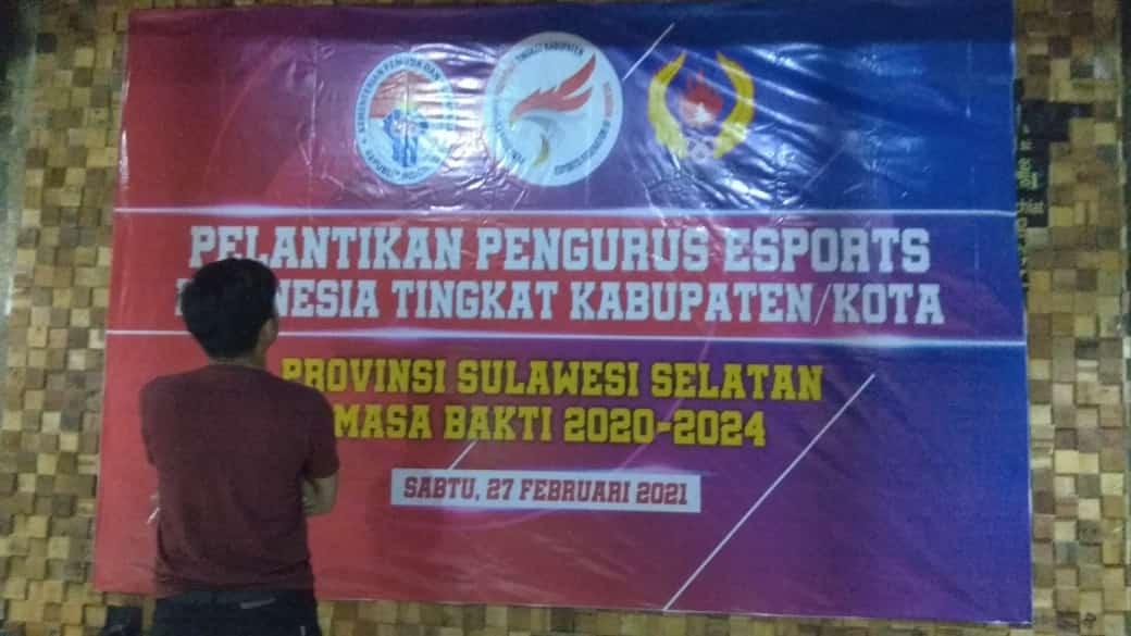 Pengurus Esports Indonesia Kabupaten Selayar Besok Dilantik, Begini Suasana Persiapannya