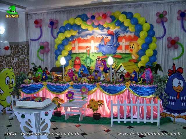 Tema Galinha Pintadinha - decoração de festa de aniversário infantil