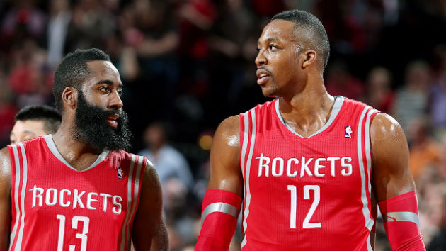 James Harden et Dwight Howard, le duo star des Houston Rockets