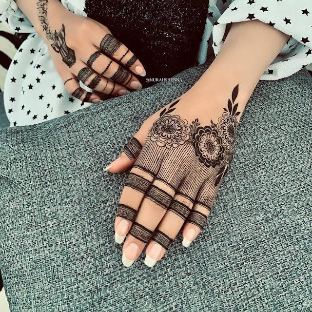 mehndi designs arabic simple