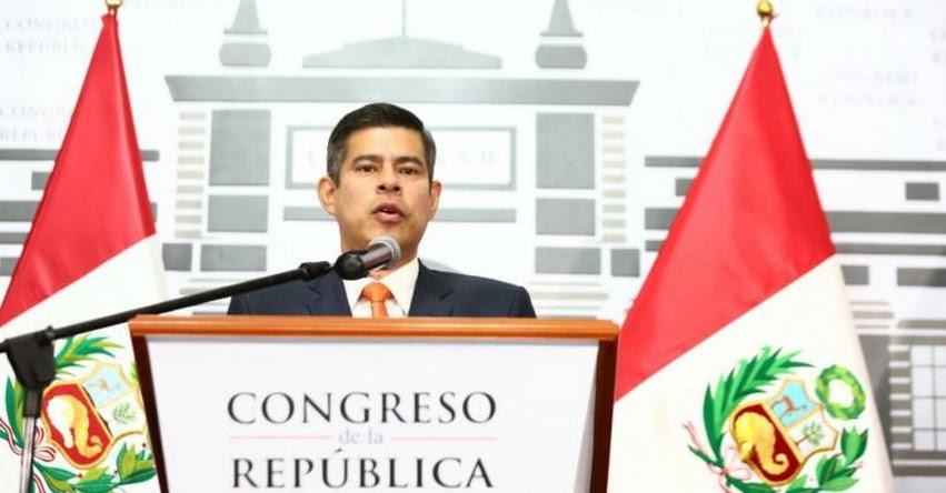 Congreso de la República recibe a Fernando Zavala esta tarde para sustentar la cuestión de confianza