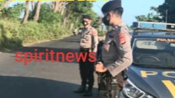 Antisipasi Balapan Liar, Personel Polsek Marbo Rutin Melakukan Patroli Di Kawasan Wisata