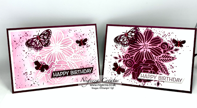 Stamp Around UK June Video Hop: 2 For One Cards