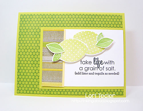 Take Life with a Grain of Salt card-designed by Lori Tecler/Inking Aloud-stamps and dies from Reverse Confetti
