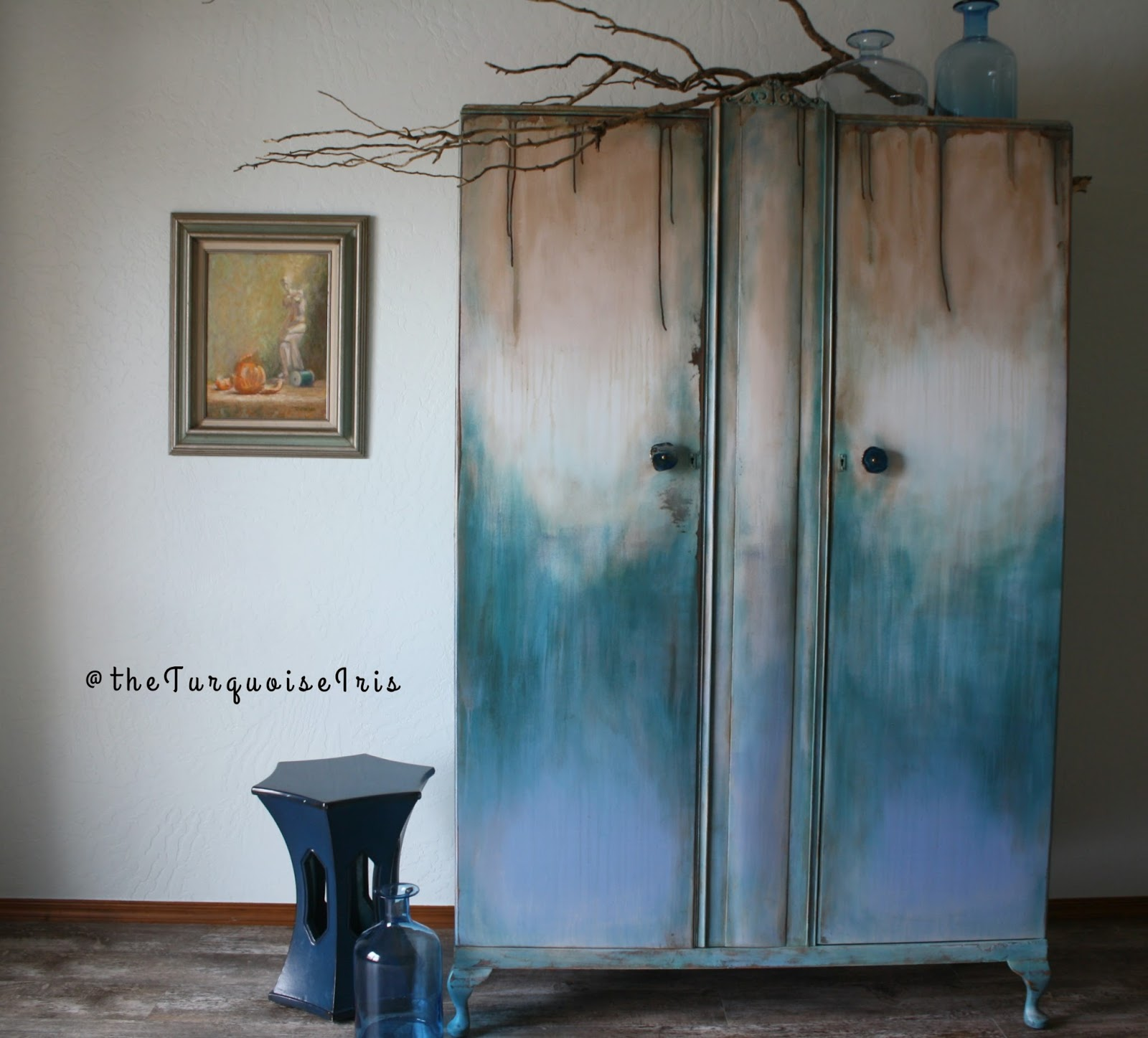 The Turquoise Iris ~ Furniture & Art: See The Old Doors
