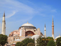 The Hagia Sophia.  It served for 1000 years as the paragon of church size, design and beauty.
