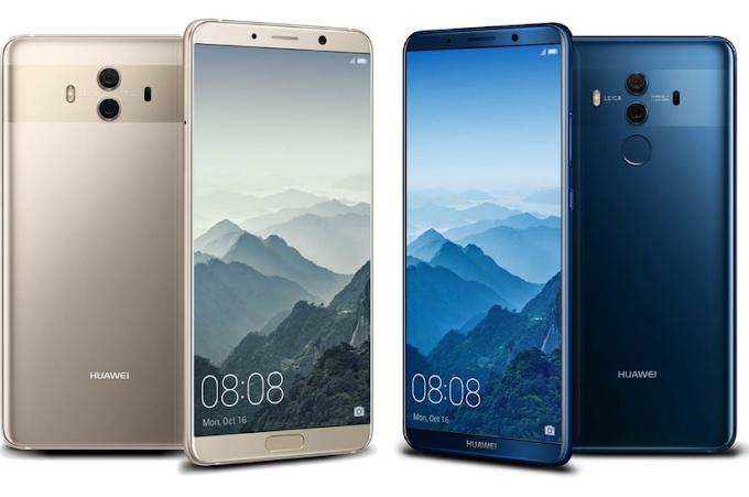 Harga Dan Spesifikasi Huawei Mate 10 dan Mate 10 Pro