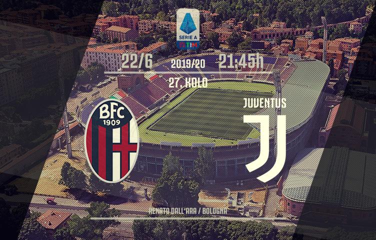 Serie A 2019/20 / 27. kolo / Bologna - Juve, ponedeljak, 21:45h