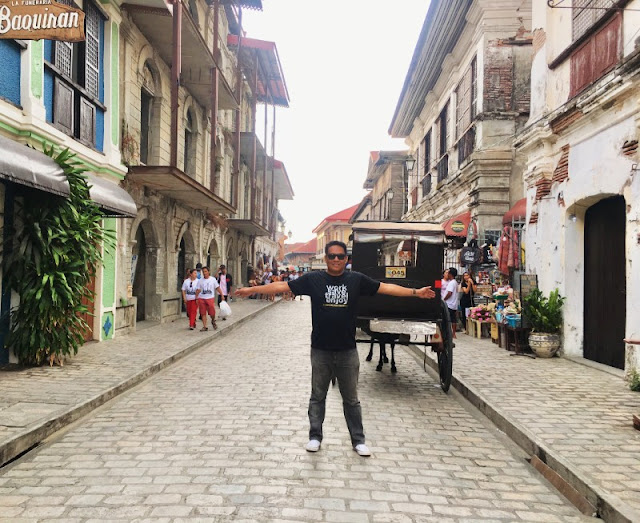Calle Crisologo in Vigan Ilocos Sur is one of the most famous tourist spots in Ilocos Sur which was part of our Ilocos Tour Package for 2 days and 1 night