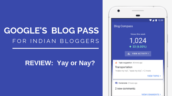 Blog Compass Google App for Indian Bloggers, Google's Blog Compass India Bloggers