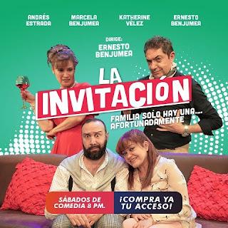 Comedia LA INVITACIÓN ¡ONLINE!