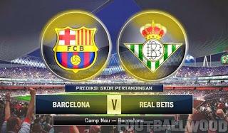 ماتش برشلونة ريال بيتيس بث مباشر