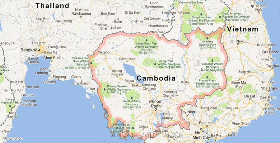 An introduction to the country of cambodia