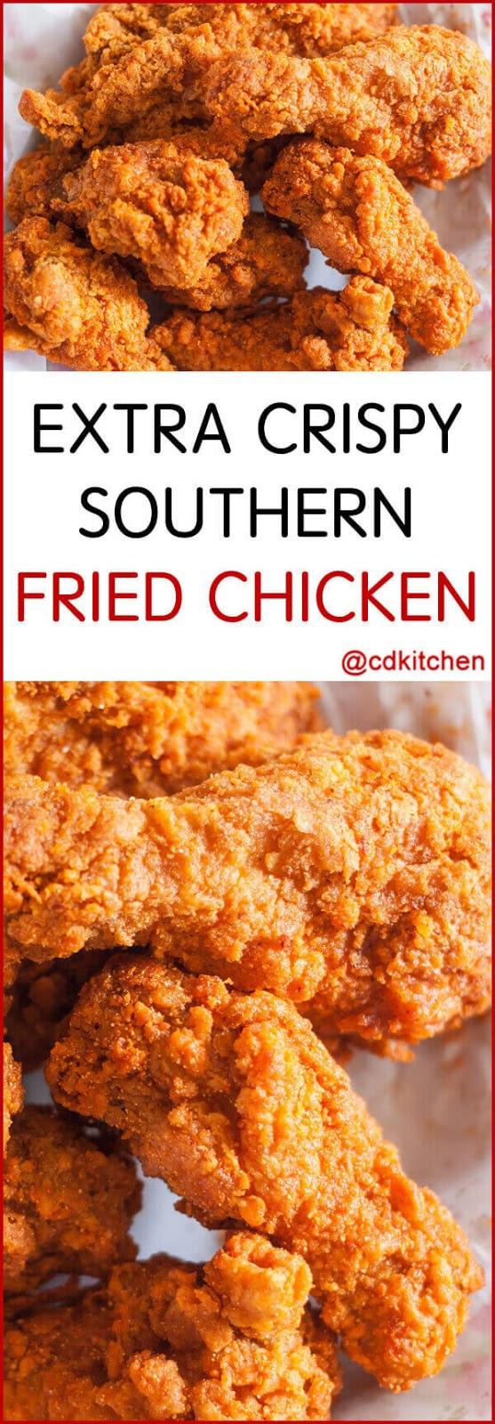 Extra Crispy Southern Fried Chicken