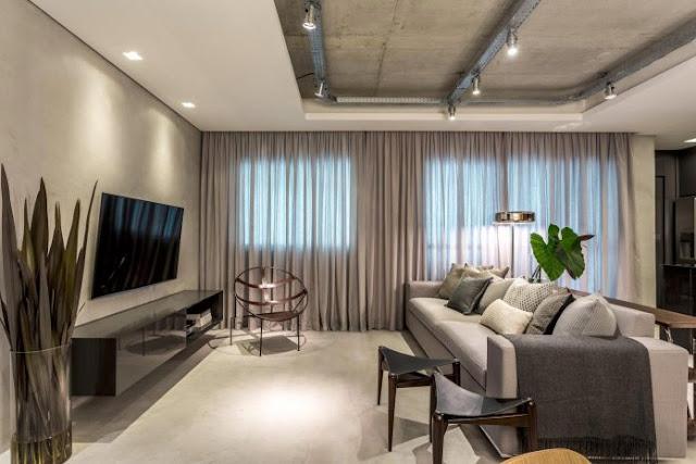 Thiết kế căn hộ 83m2 hiện đại, tinh tế - H1