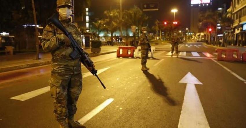 TOQUE DE QUEDA: Gobierno amplía horario de restricciones desde las 9 p.m. a 4 a.m. en Lima y Callao